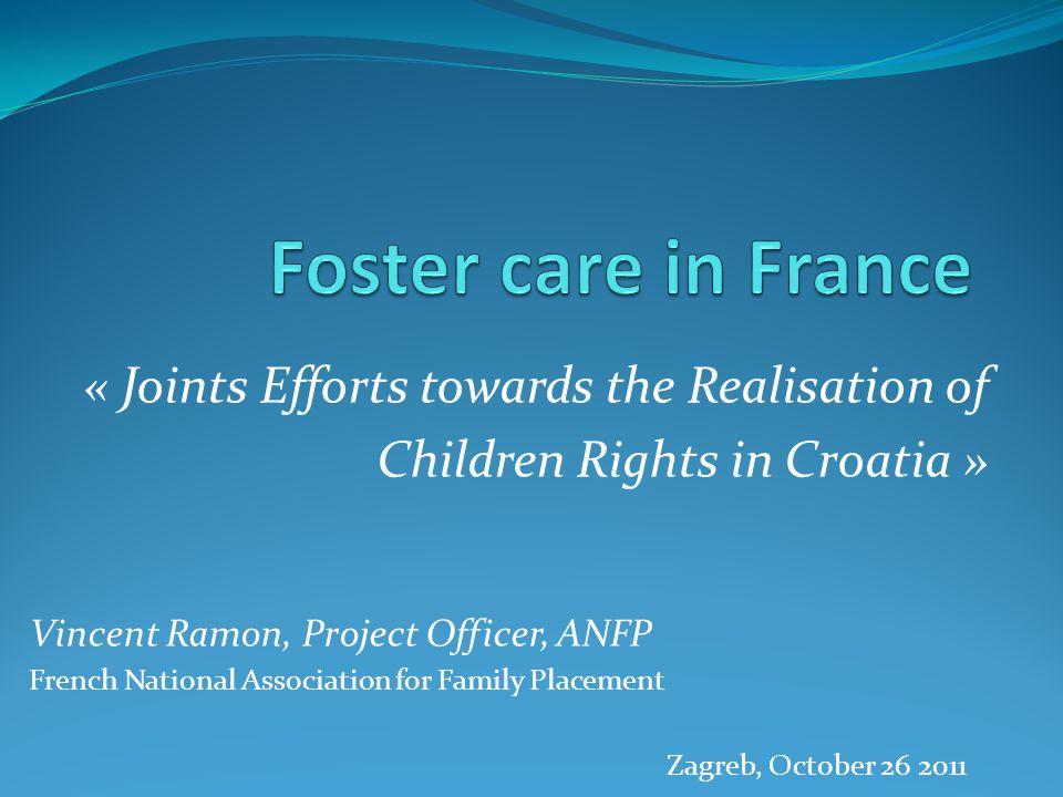 Foster Care :a complex issue Illustration GRAPE 1995
