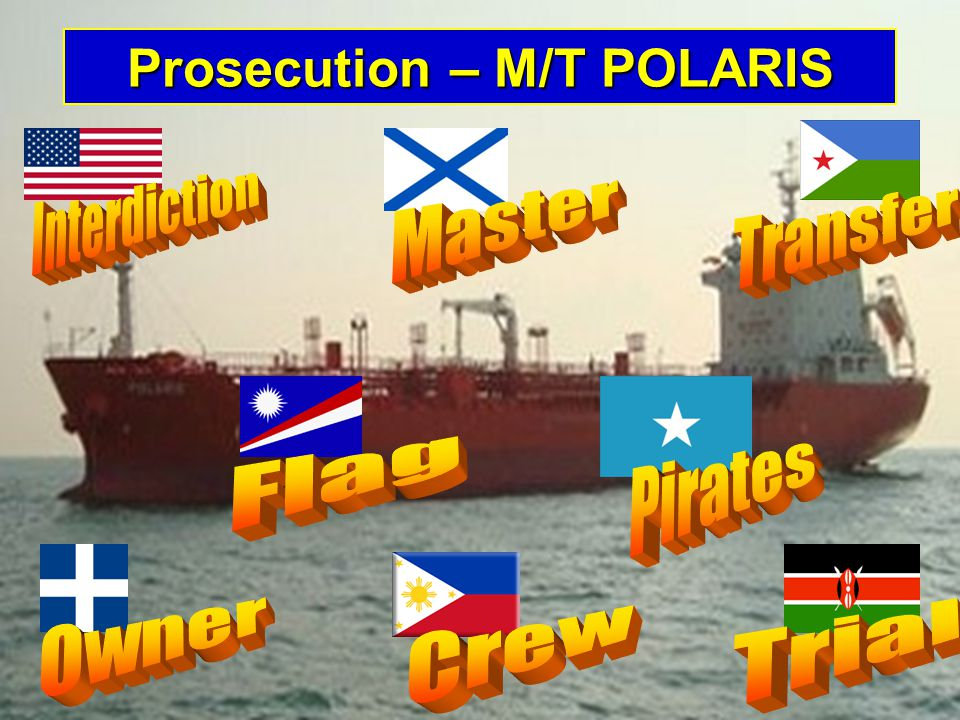 Prosecution – M/T POLARIS
