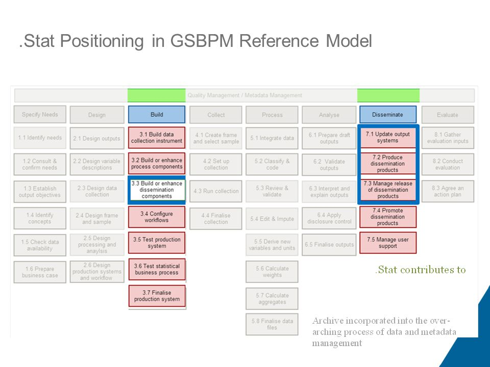 .Stat Positioning in GSBPM Reference Model