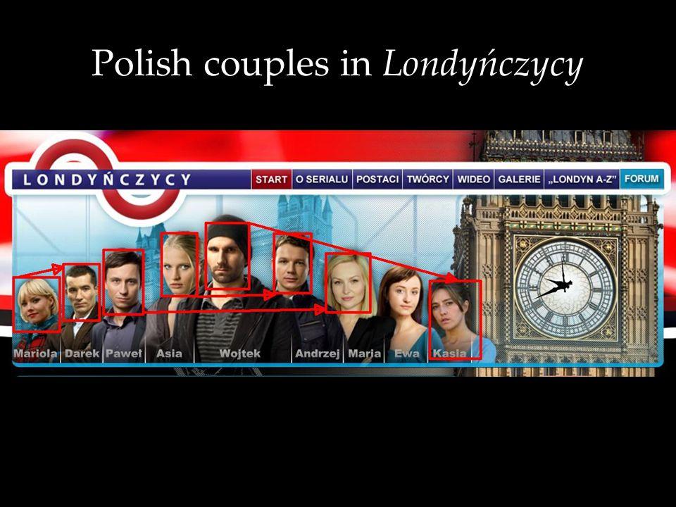 Polish couples in Londyńczycy