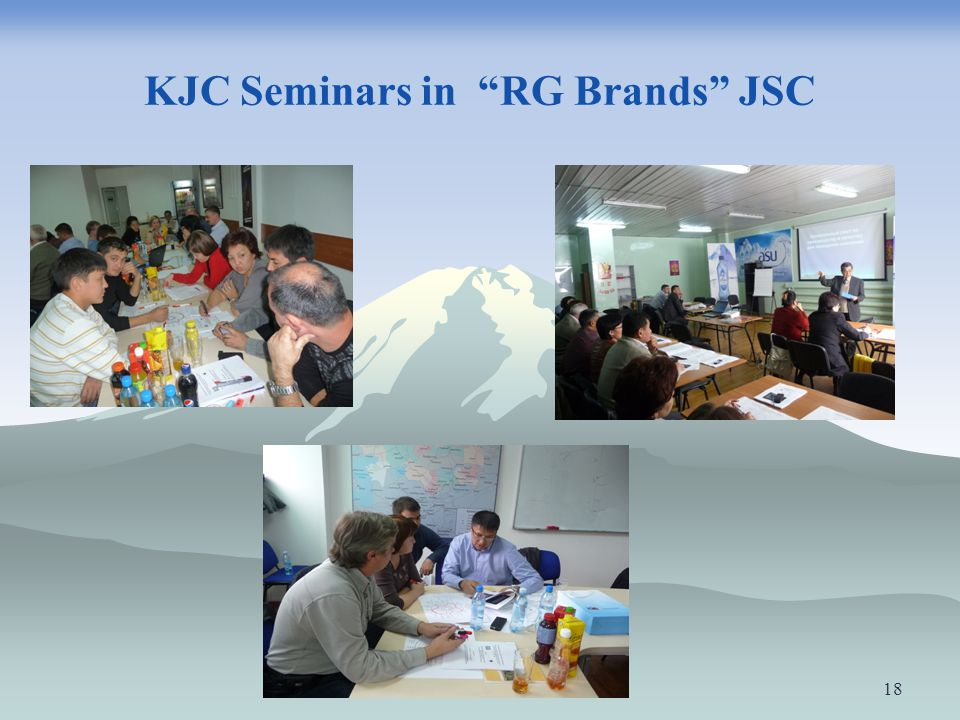 KJC Seminars in RG Brands JSC 18