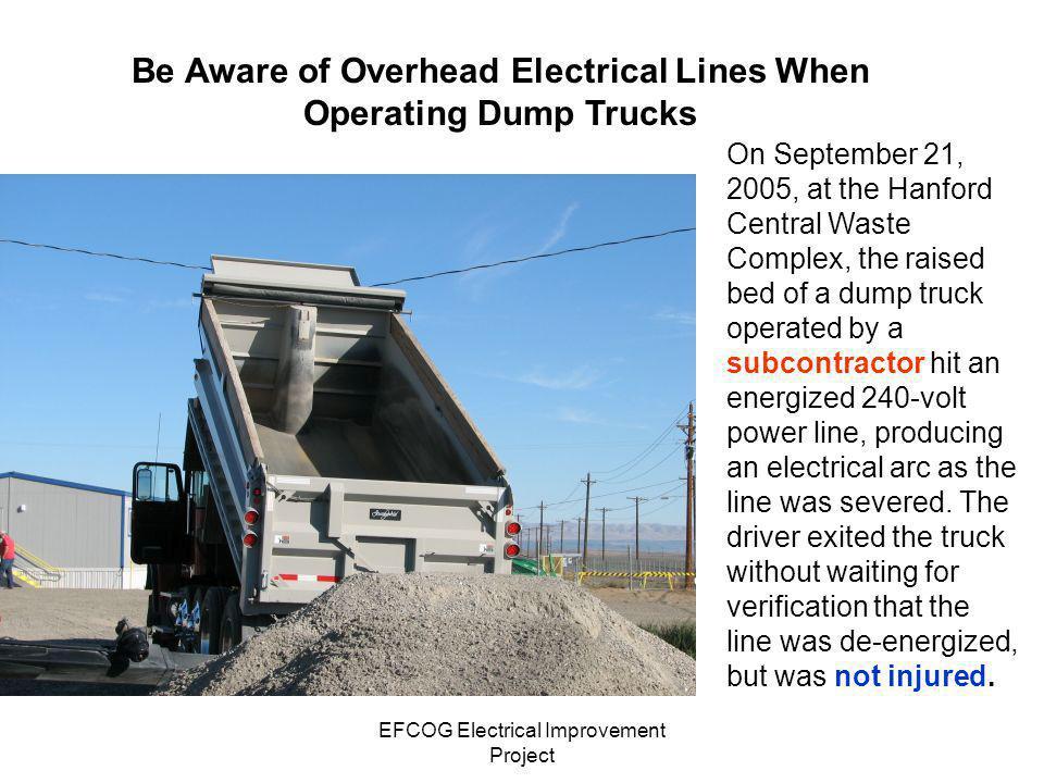 EFCOG Electrical Improvement Project On Feb.