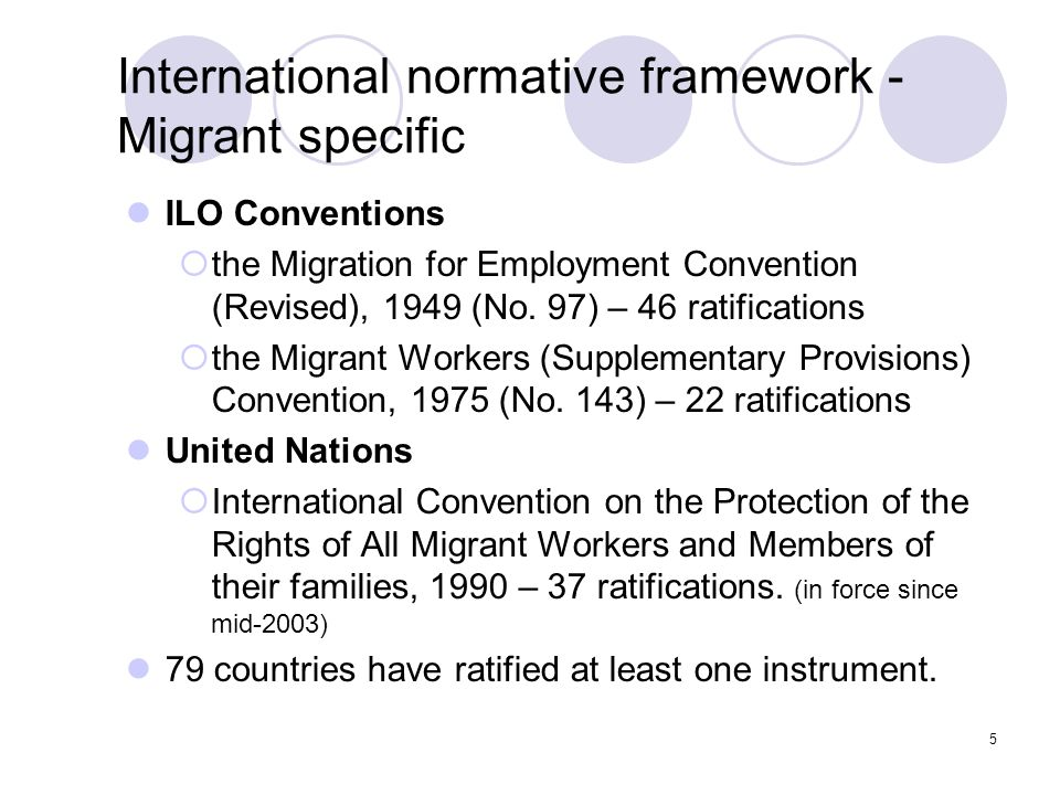 16 MLF Themes Decent work Means for international cooperation Global knowledge base Effective management of labour migration Protection of migrant workers Prevention of, and protection against abusive practices Migration process Social integration and inclusion Migration and development