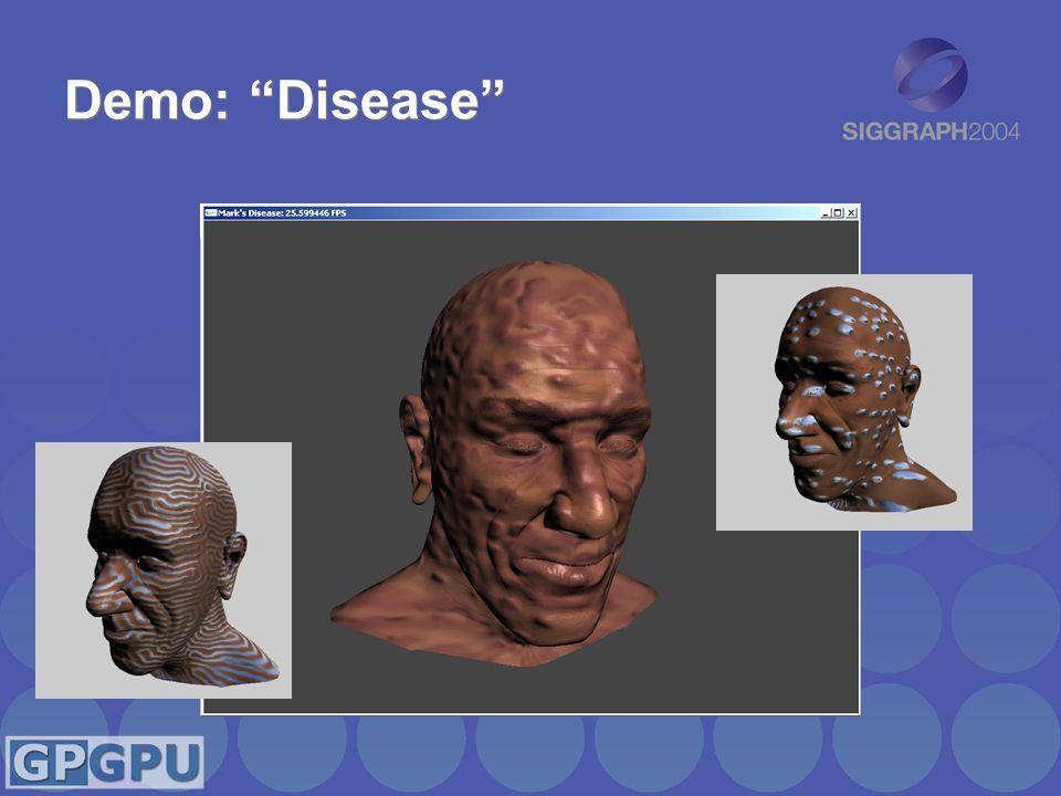 Demo: Disease
