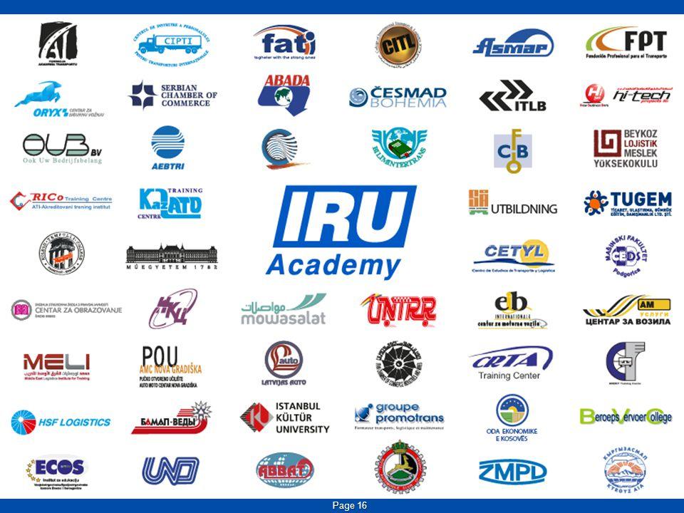 IRU Academy Programmes Page 17