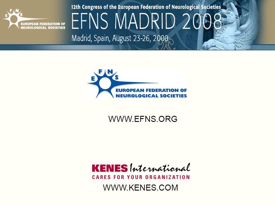 WWW.KENES.COM WWW.EFNS.ORG
