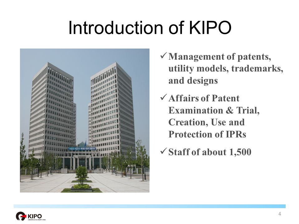 KOREAN INTELLECTUAL PROPERTY OFFICE Policies on IP Transfer & Commercialization 3 15