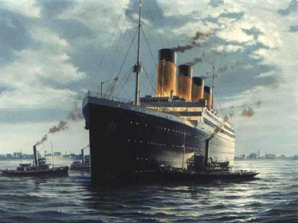 Yet the later part of the sinking was sort of faster and the golden funnels of Titanic stared to lose one by one