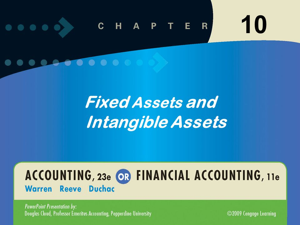 10-82 Describe the accounting for intangible assets, such as patents, copyrights, and goodwill.