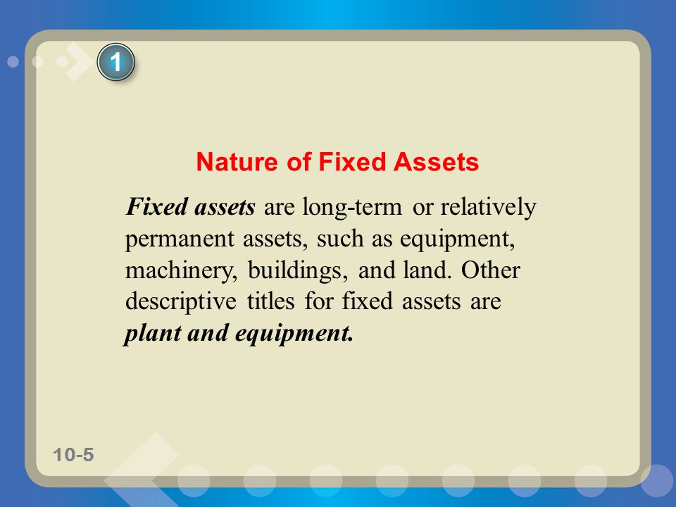 10-96 6 Describe how depreciation expense is reported in an income statement and prepare a balance sheet that includes fixed assets and intangible assets.