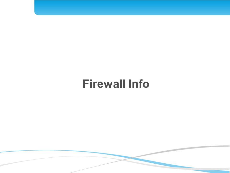 Firewall Info