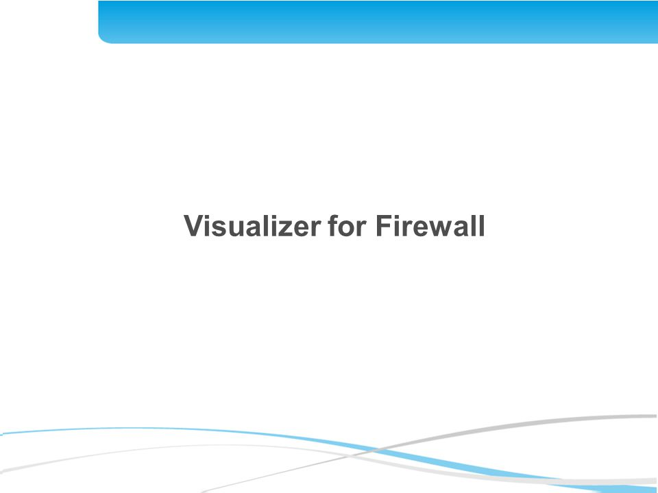 Visualizer for Firewall