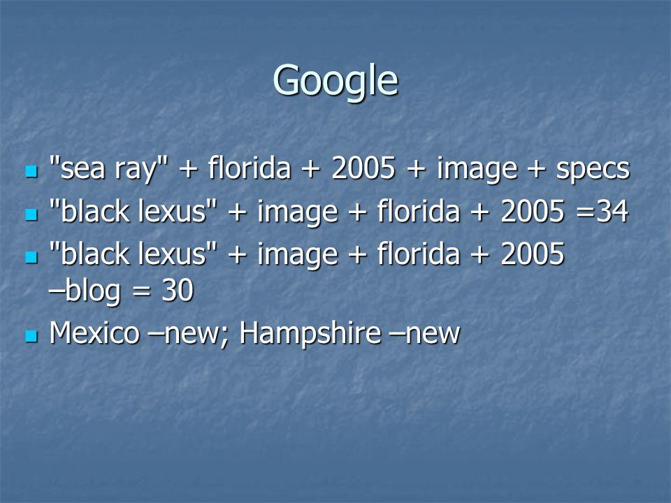 Google sea ray + florida + 2005 + image + specs sea ray + florida + 2005 + image + specs black lexus + image + florida + 2005 =34 black lexus + image + florida + 2005 =34 black lexus + image + florida + 2005 –blog = 30 black lexus + image + florida + 2005 –blog = 30 Mexico –new; Hampshire –new Mexico –new; Hampshire –new