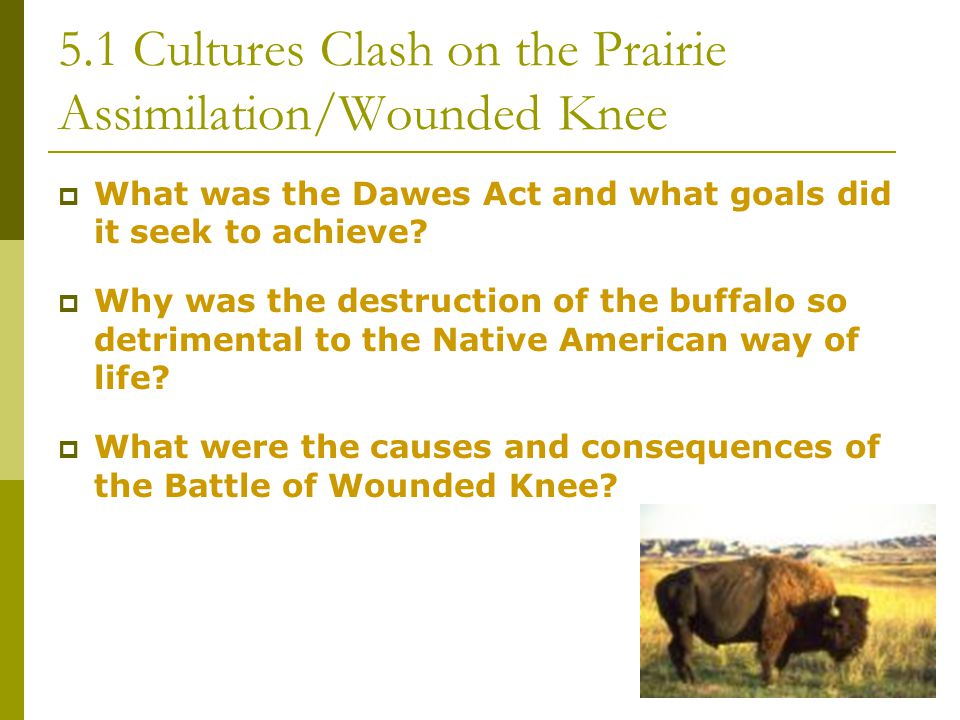 5.1 Cultures Clash on the Prairie Cattle Becomes Big Business  What influence did Spanish ranchers have on the American cowboy.