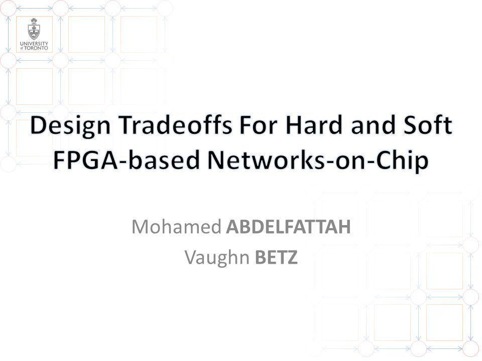 Mohamed ABDELFATTAH Vaughn BETZ