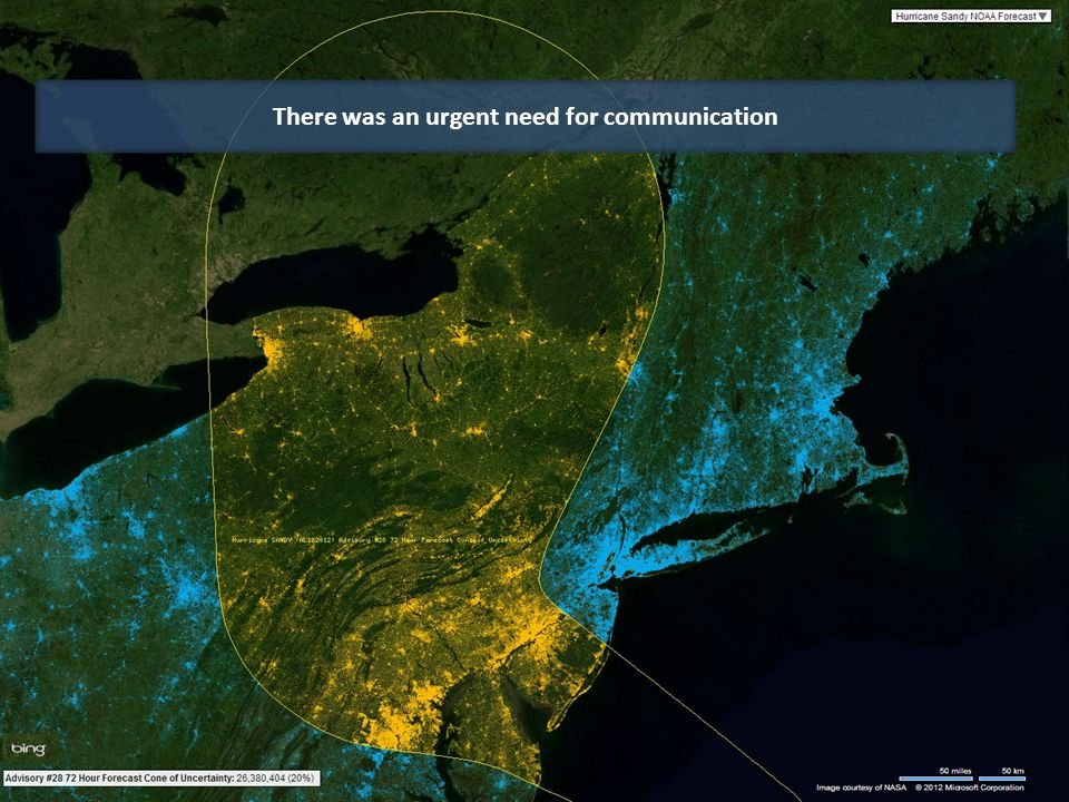 DCS includes over 150 Million US Addresses DCS includes data on over 200 Million US Adults All are visualized in Bing Maps instantly