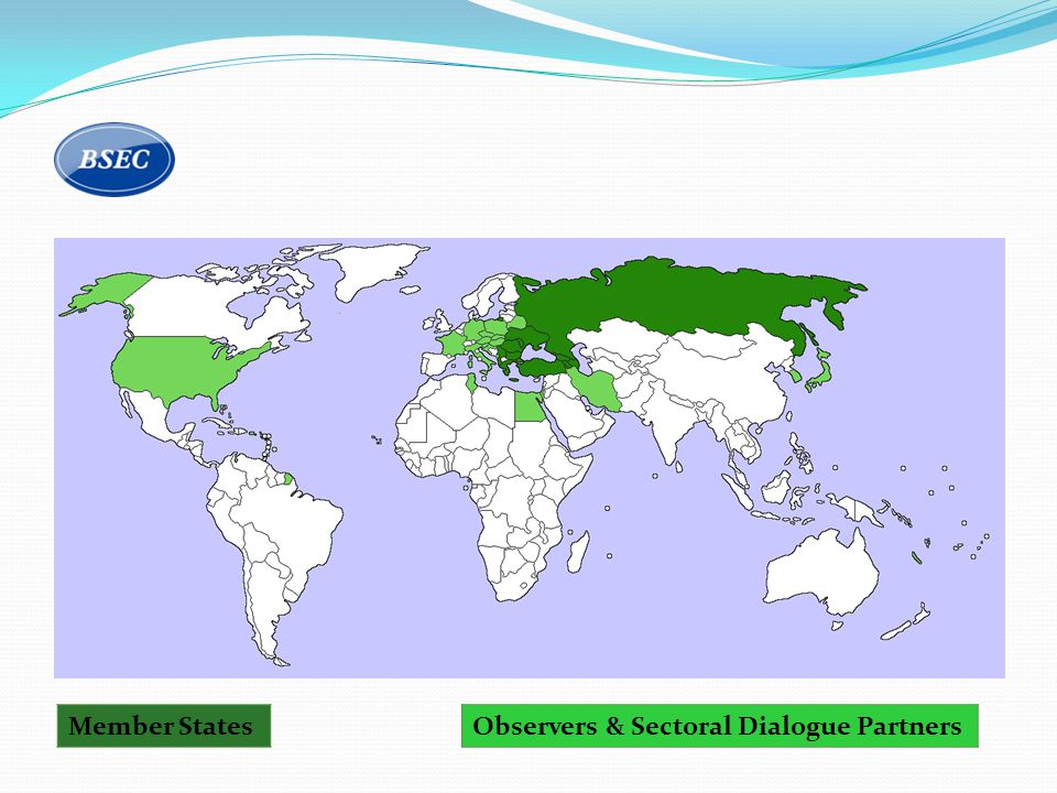 Member StatesObservers & Sectoral Dialogue Partners