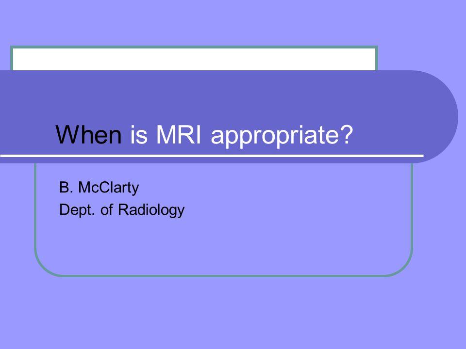 MRI Utilization