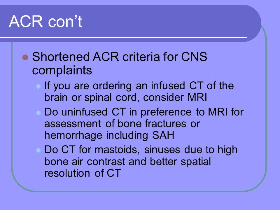 CT vs. MRI Mastoids