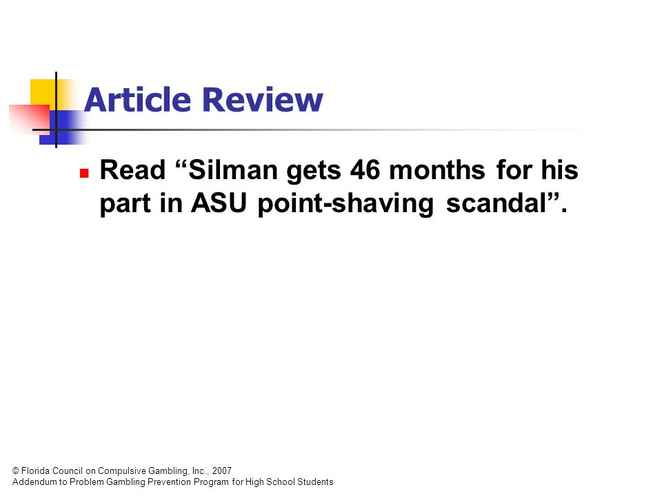 Article Review Read Silman gets 46 months for his part in ASU point-shaving scandal .