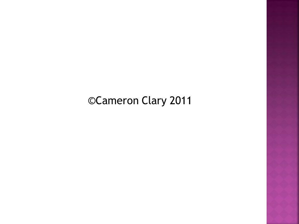 ©Cameron Clary 2011
