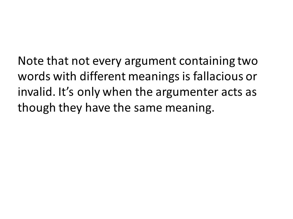 Vagueness A vague word is not ambiguous– it has only one meaning.