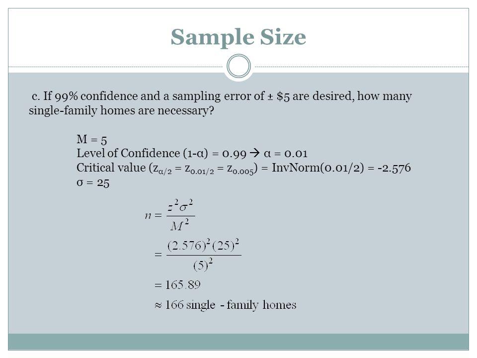 Sample Size c.