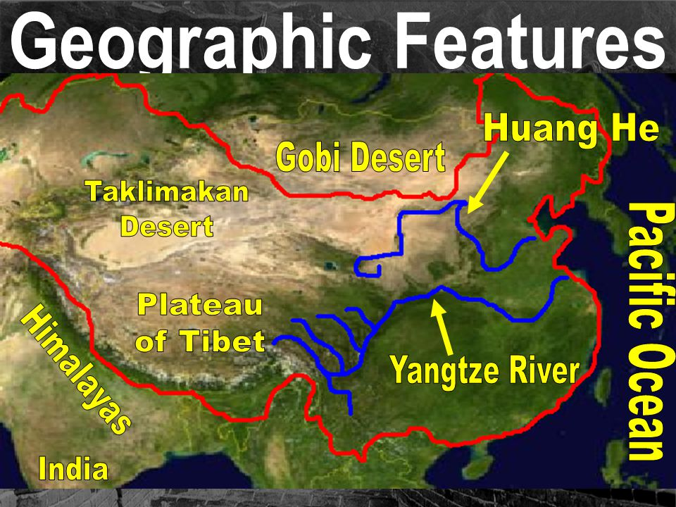 Geography of China on emaze