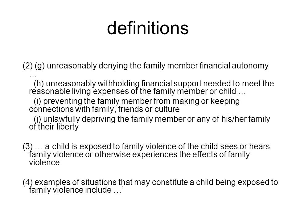 Best Practice Principles Following the UK's Guidelines for Good Practice on Parental Conflict where there is Domestic Violence published in 2002, the Family Court of Australia published the Best Practice Principles for Use in Parenting Disputes when Family Violence or Abuse is Alleged in March 2009.