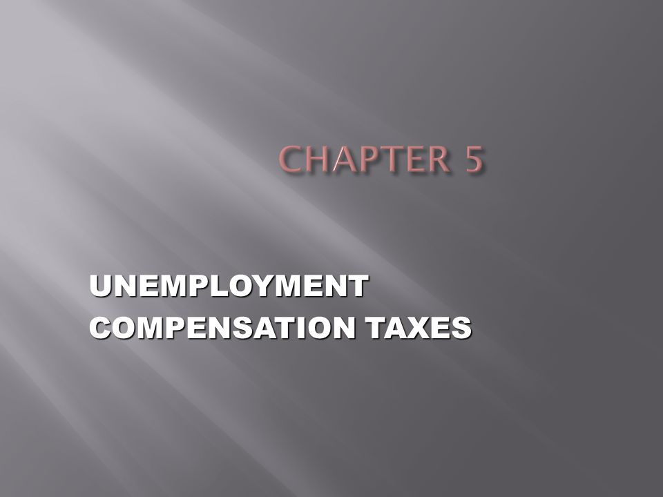  FUTA  Federal Unemployment Tax Act  Federal law that imposes an employer tax  Required for administration of federal and state unemployment insurance programs  SUTA  State Unemployment Tax Act  Different law in each state  Funds used to pay benefits and administer program at individual state's level