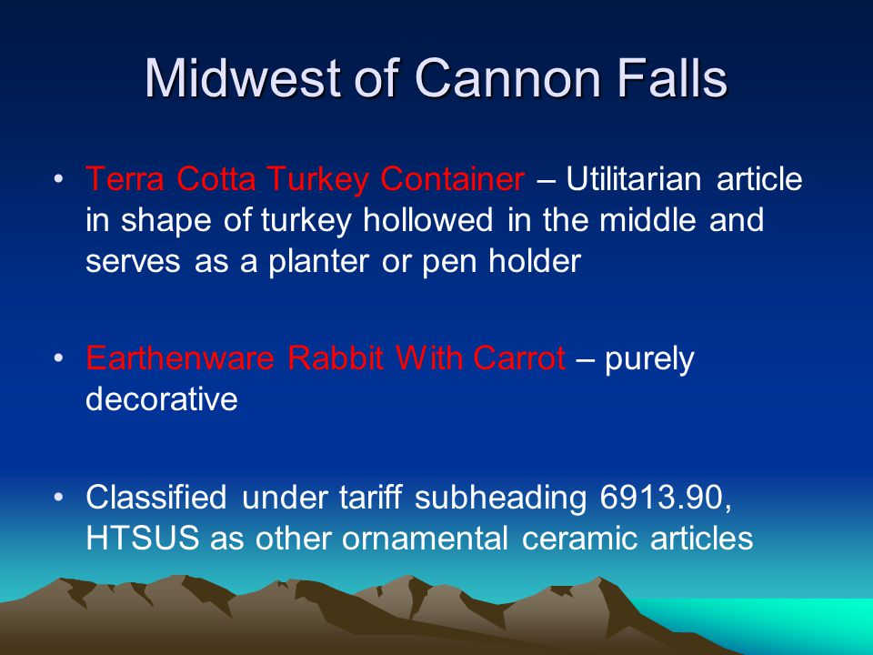 Midwest of Cannon Falls Although all of the items feature animals that are associated with a particular holiday or season, the items are not so peculiarly stylized so as to limit their use to that holiday.
