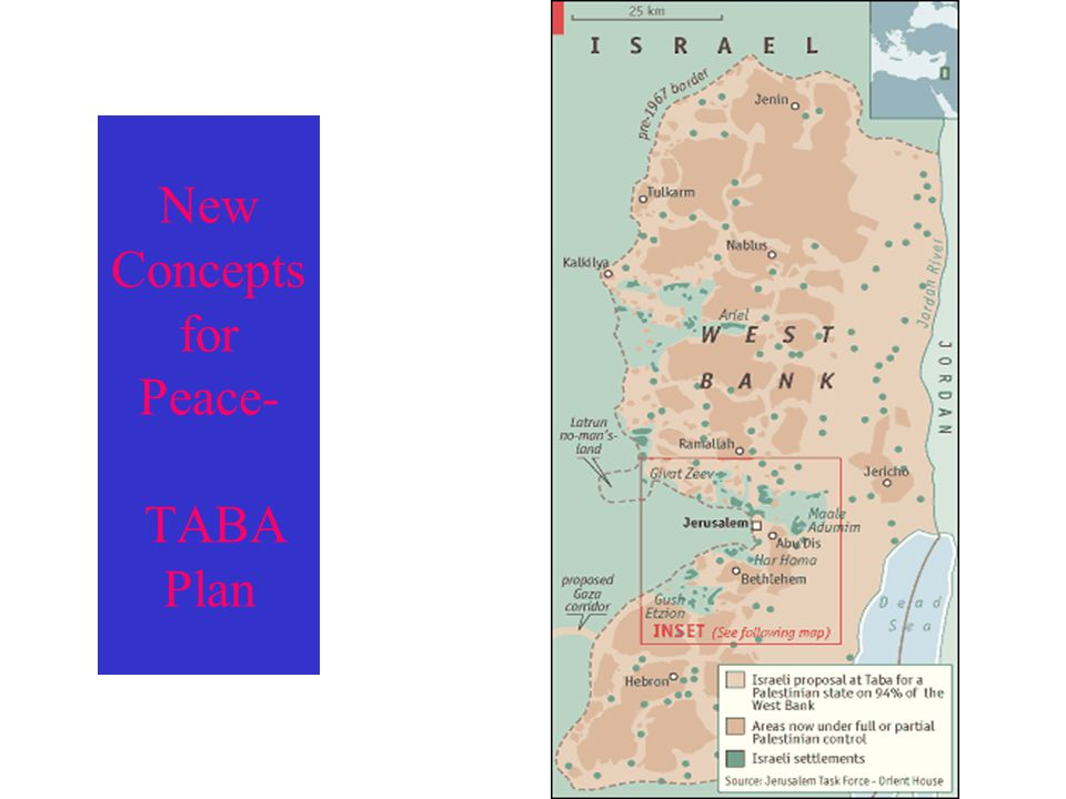 New Concepts for Peace- TABA Plan