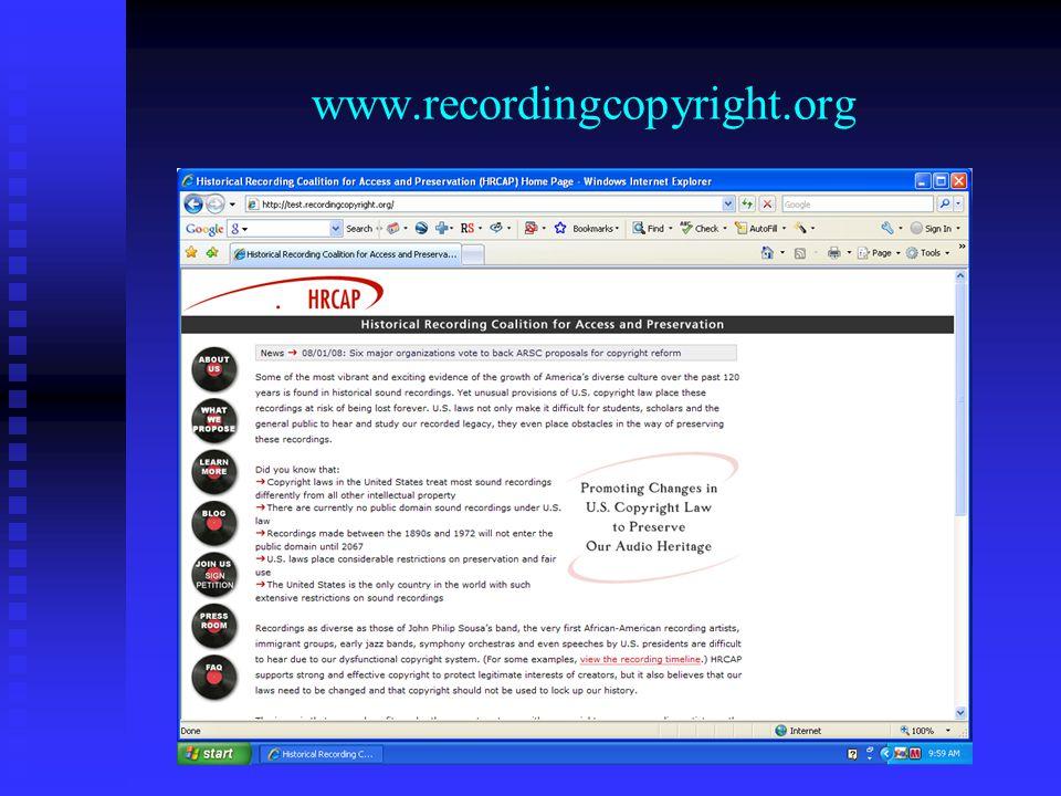 www.recordingcopyright.org