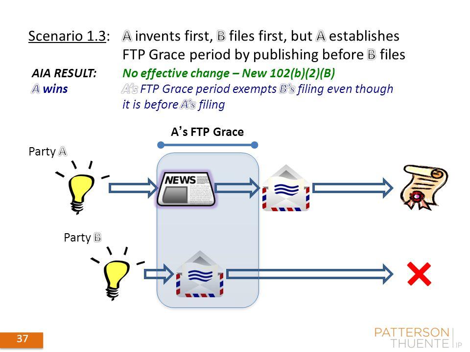 37 A's FTP Grace