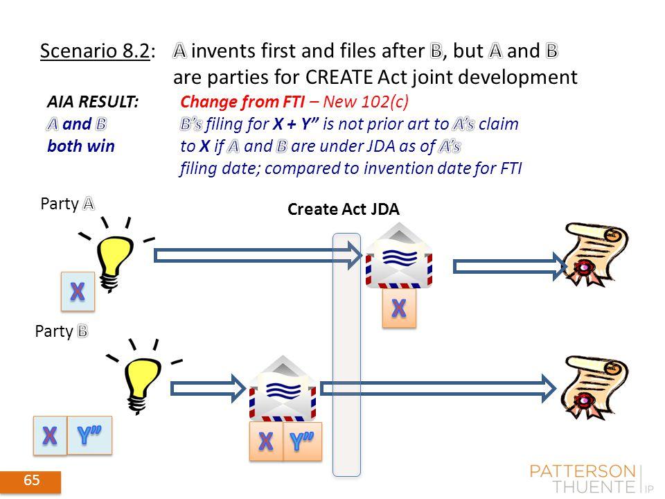 65 Create Act JDA