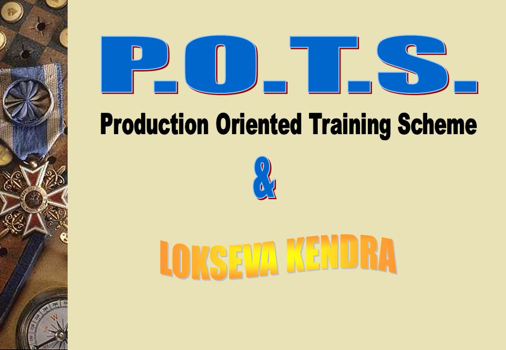 Works Done Under P.O.T.S. D.T.P. Page Setting Data Entry Work