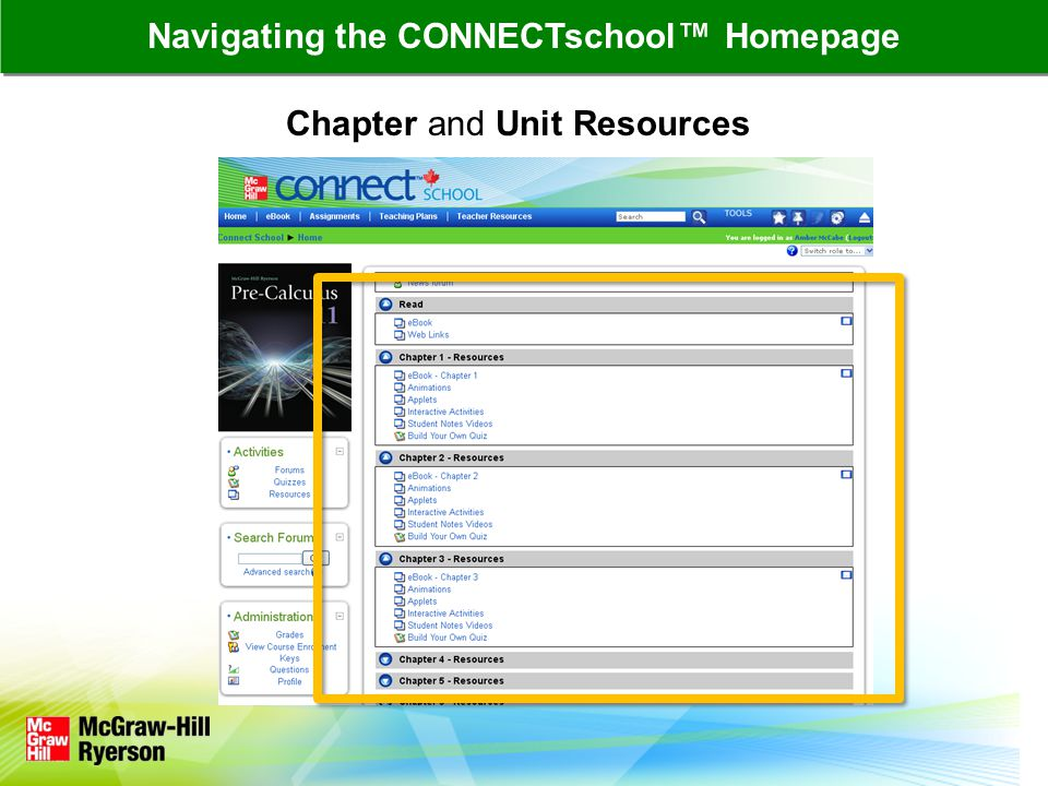 All assignments are listed on the main Assignments page CONNECTschool™ Features: Assignments