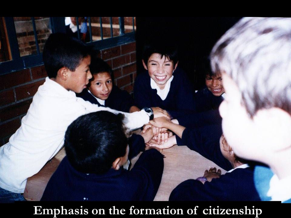 Emphasis on the formation of citizenship