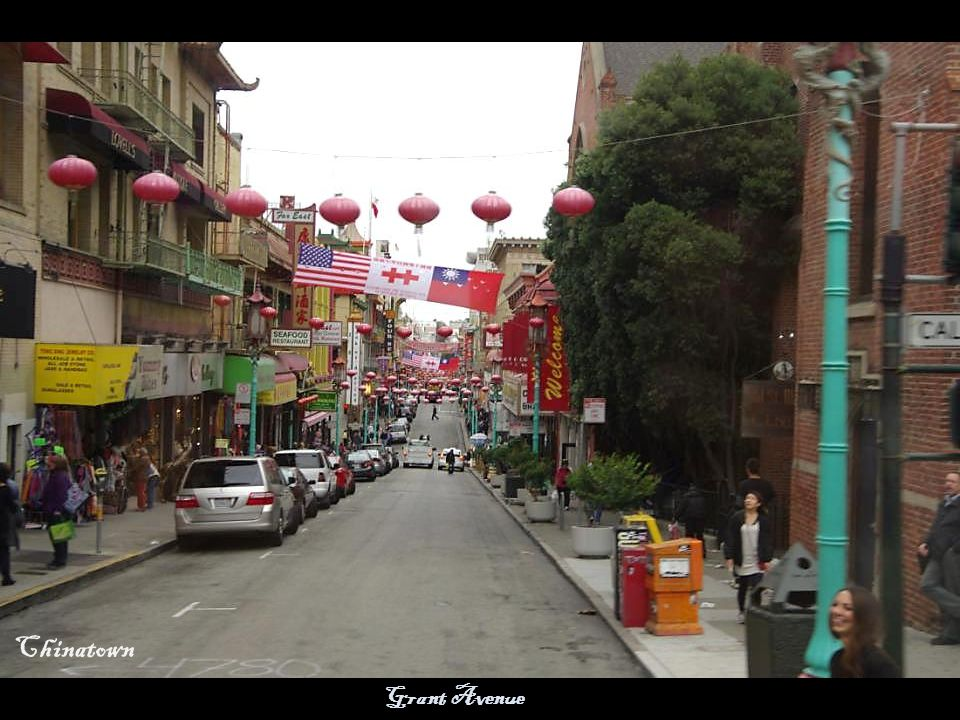 Grant Avenue Chinatown Gate