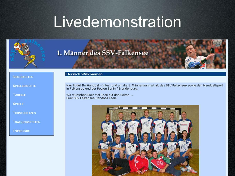 Livedemonstration