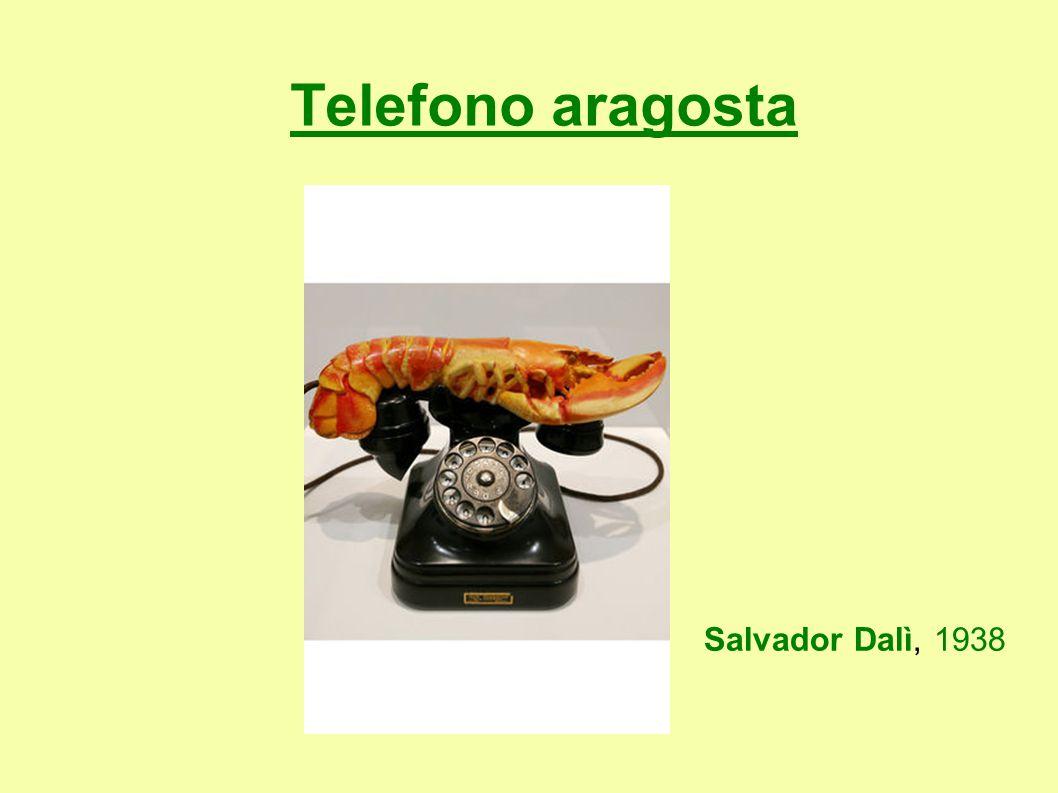 Telefono aragosta Salvador Dalì, 1938