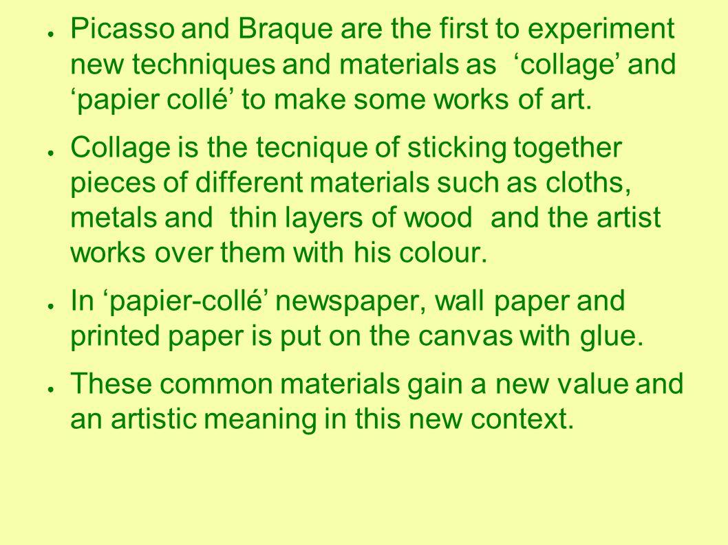 ● In the Sixties in Italy ' Arte Povera' (Pauper art) develops.