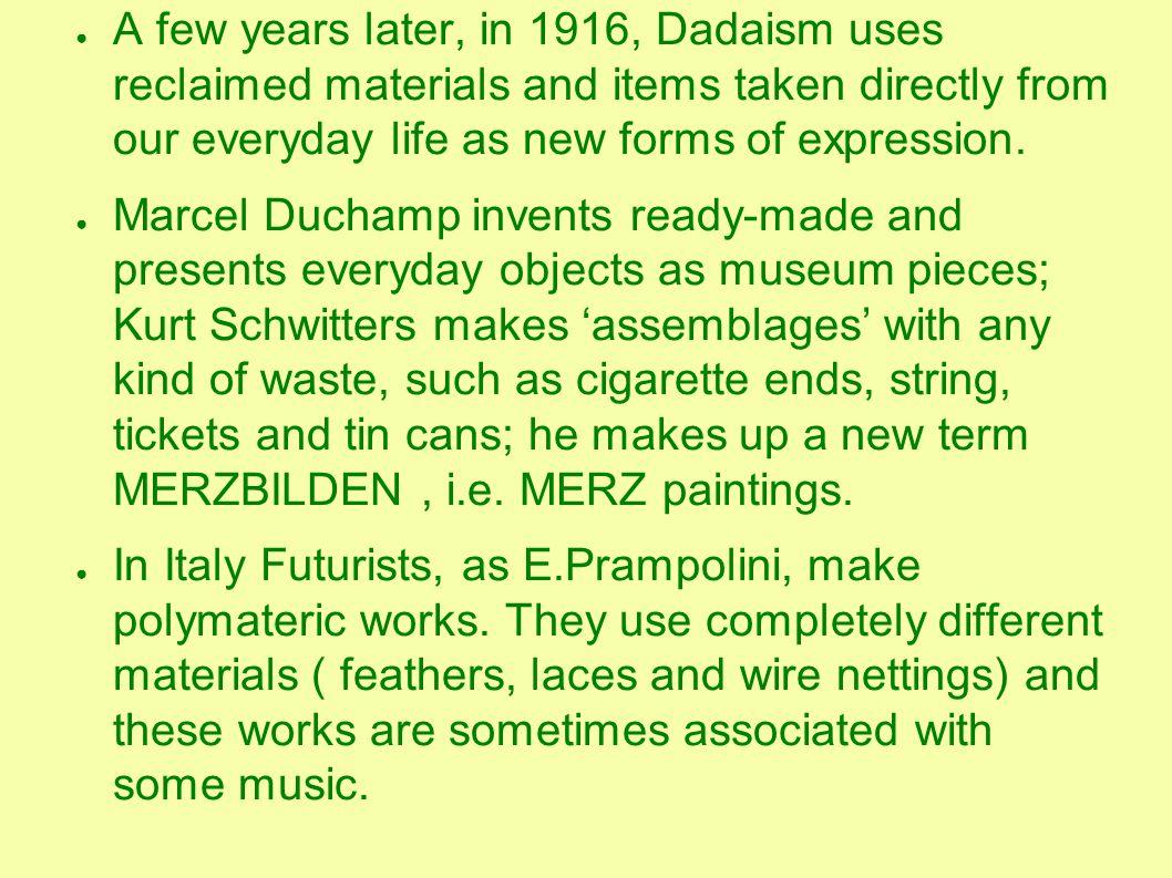 Marcel Duchamp,1917.Ready- made: orinatorio in porcellana.