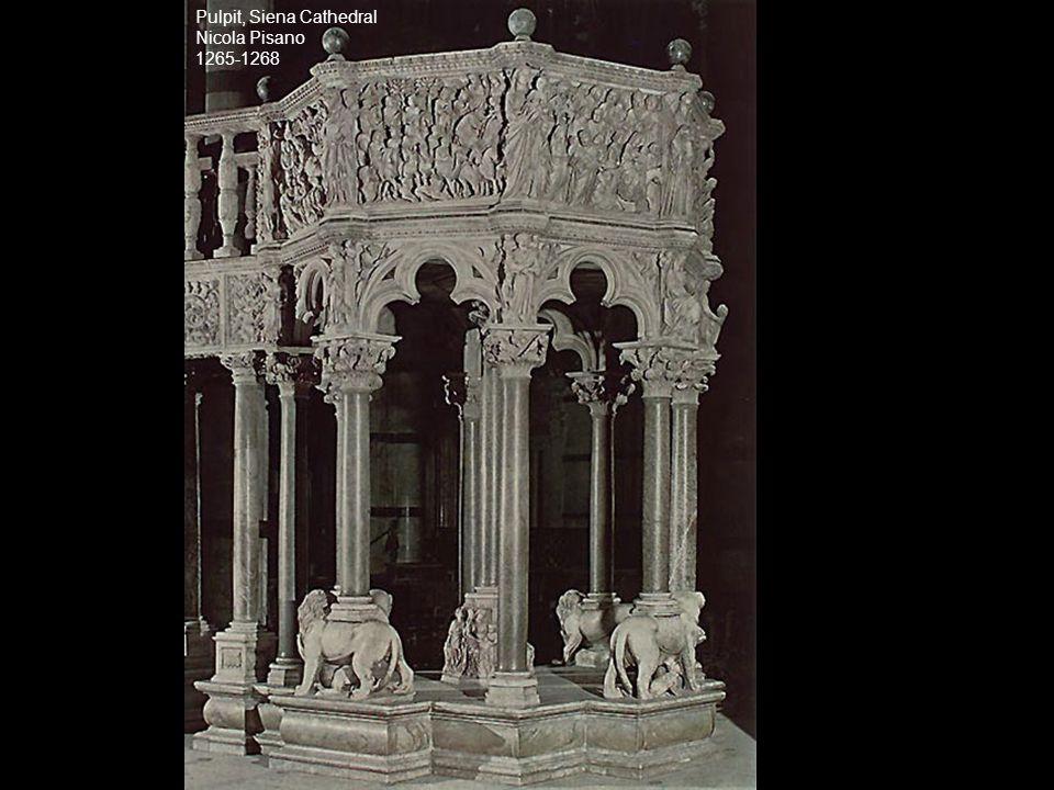 Pulpit, Siena Cathedral Nicola Pisano 1265-1268
