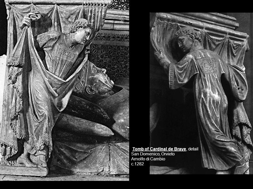 Tomb of Cardinal de Braye, detail San Domenico, Orvieto Arnolfo di Cambio c.1282