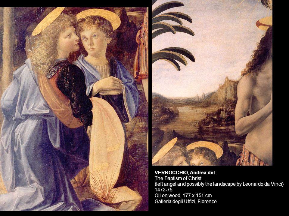 VERROCCHIO, Andrea del The Young David c1473-75 Bronze, height: 125 cm Museo Nazionale del Bargello, Florence