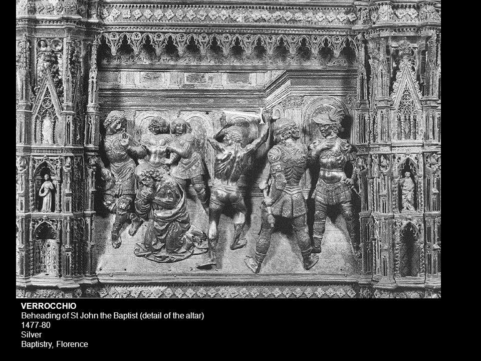 Detail, Head of Goliath from Donatello's Bronze David