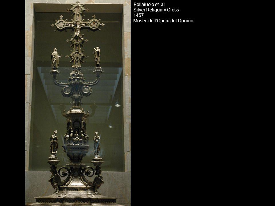 Pollaiuolo et. al Silver Reliquary Cross 1457 Museo dell'Opera del Duomo