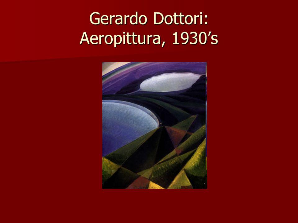 Gerardo Dottori: Aeropittura, 1930's