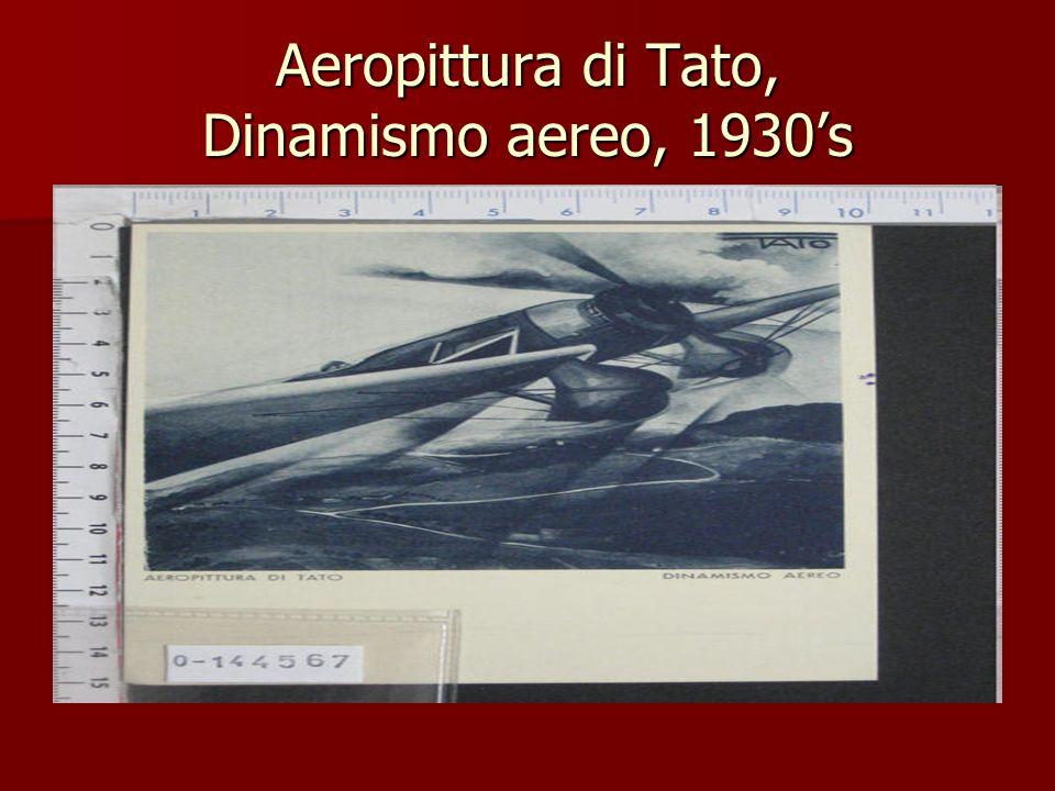 Aeropittura di Tato, Dinamismo aereo, 1930's